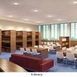 הספריה בבית המרד החדש